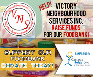 Help Victory Neighbourhood Services raise funds for our foodbank
