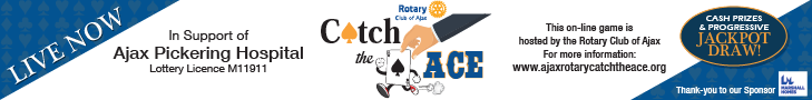 Ajax Rotary Catch the Ace
