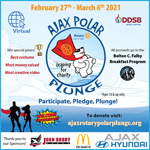 Ajax Rotary Polar Plunge - Virtual Event