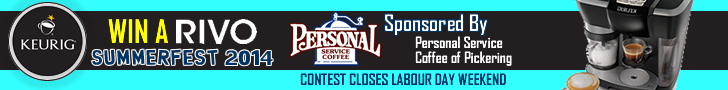 Summerfest Contest - WIN A KEURIG RIVO COURTESY OF PERSONAL SERVICE COFFEE PICKERING