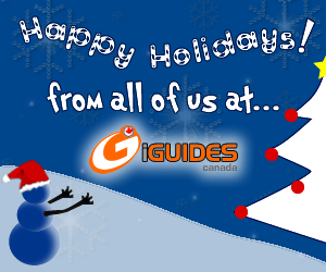 Happy Holidays from iGuides Canada