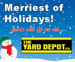 Happy Holidays from The Yard Depot