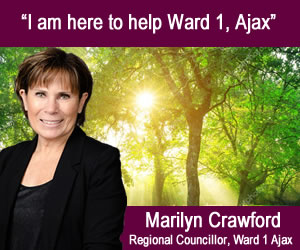 Marilyn Crawford - Regional Councillor, Ward 1 Ajax