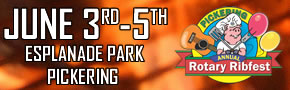 PICKERING RIBFEST - JUNE 3-5 2016