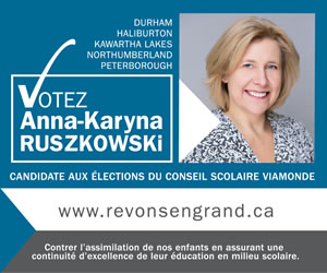 Elect Anna-Karyna Ruszkowski for  French Language School Board (Conseil scolaire Viamonde) Trustee