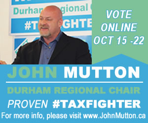 Elect John Mutton Regional Chair
