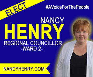 Elect Nancy Henry Regional Councillor Ward 2 Ajax