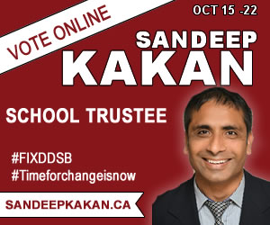 Elect Sandeep Kakan School Trustee