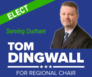 Elect Tom Dingwall Regional Chair