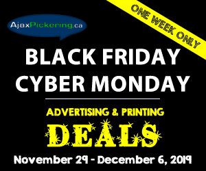 AjaxPickering.ca Black Friday Advertising Specials